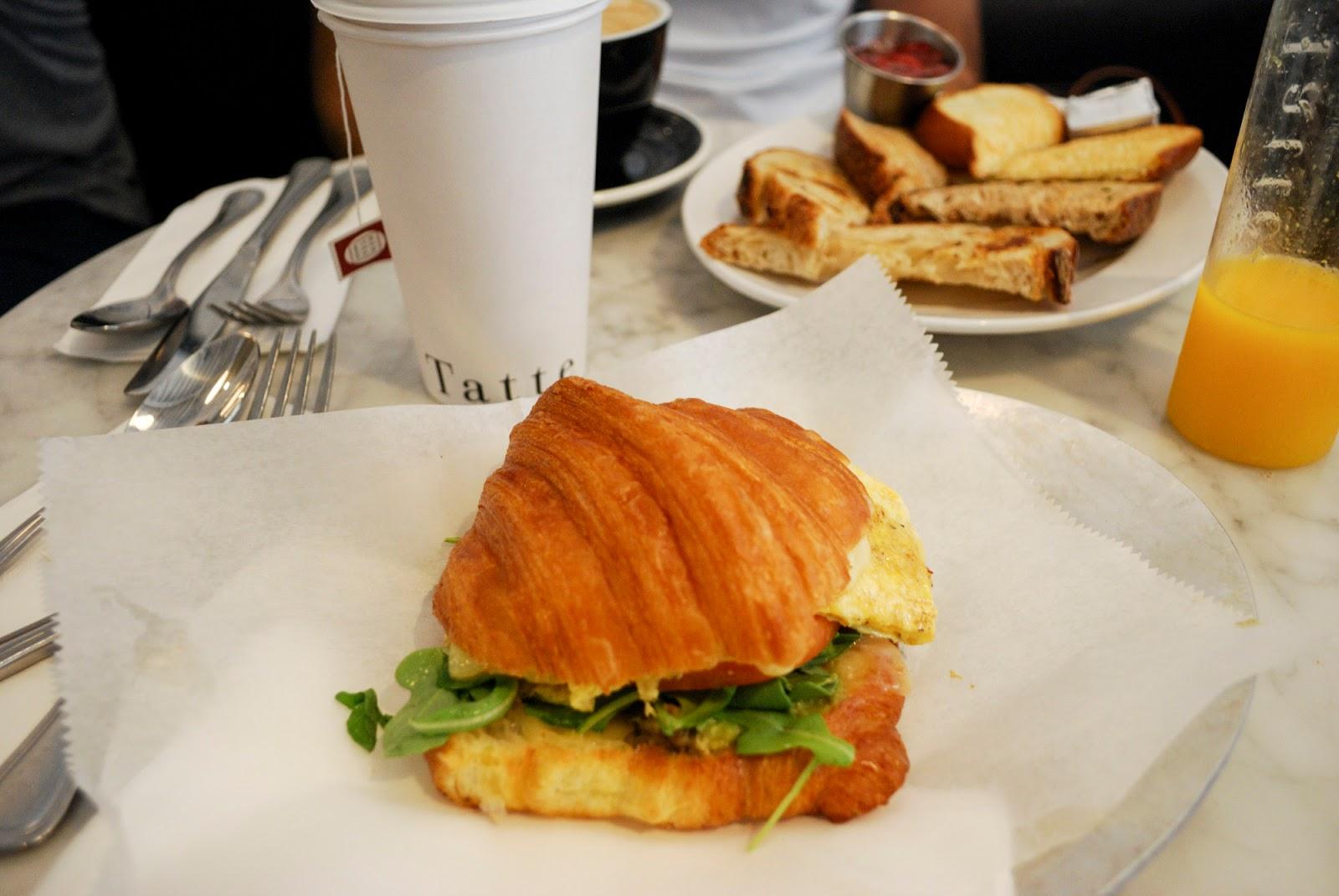 tate bakery cafe restaurant boston usa breakfast brunch
