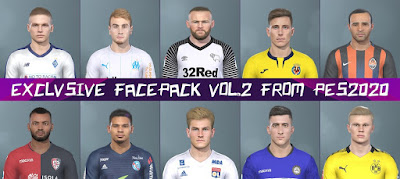 PES 2019 Facepack V2 from PES 2020
