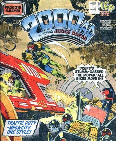2000 AD Prog 219, Judge Dredd