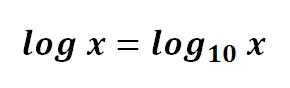 logaritmo de base 10