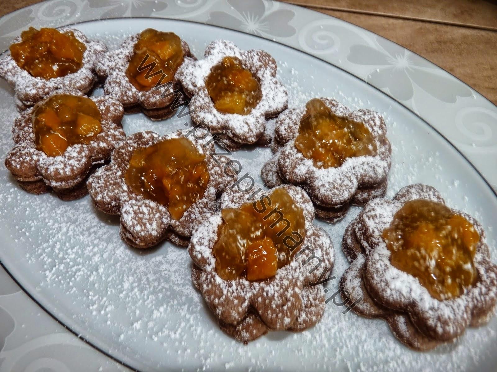 Ciasteczka cynamonowe z dżemem