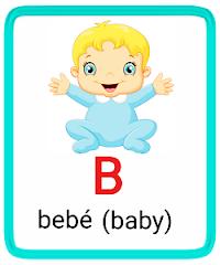 b- alphabet in spanish