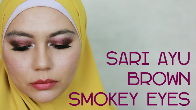 Tutorial Brown Smokey Eyes