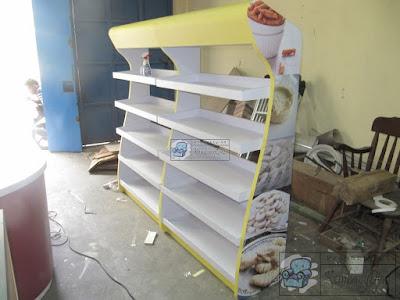 Etalase Display Desain Sendiri + Furniture Semarang ( Etalase Display )