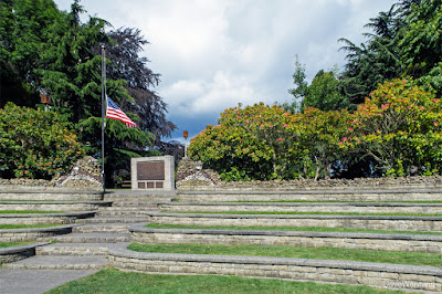 Amphitheater, Causland Memorial Park,  Anacortes, Washington