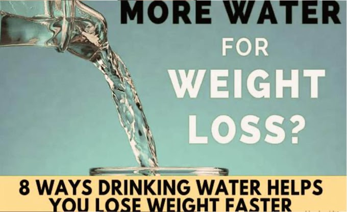 How Water Help in Reducing Weight