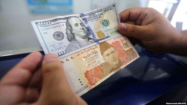 पाकिस्तानी रुपया सर्वकालिक निम्न स्तर पर