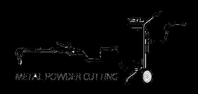 Metal powder cuttng process