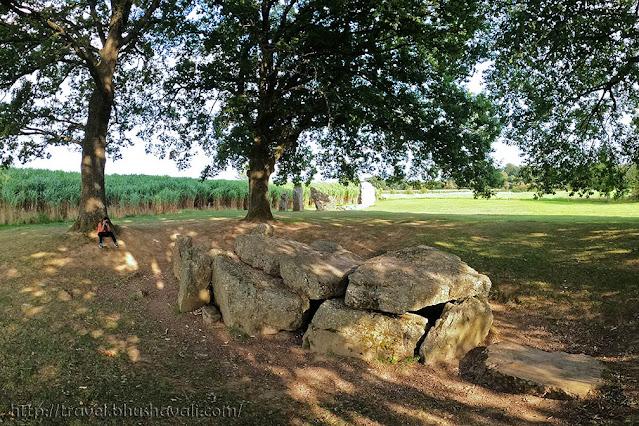 Oppagne Dolmens Prehistoric Megalithic Sites in Belgium