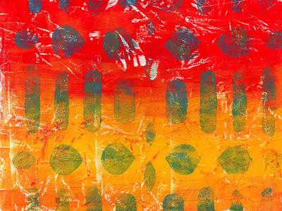 gelprinting background
