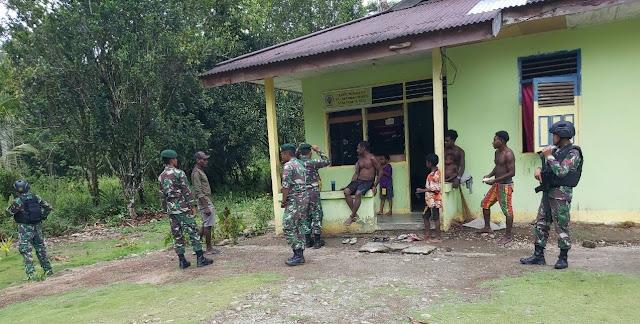 Cegah Pengaruh KKSB, Kostrad Lakukan Patroli di Pedalaman Papua