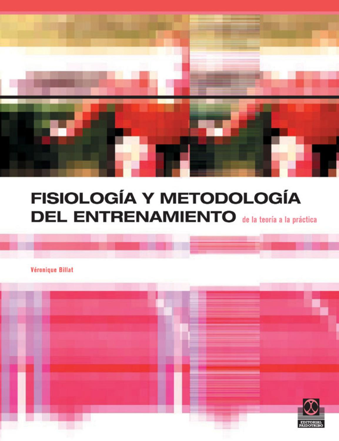 Fisiología y Metodología del Entrenamiento – Véronique Billat