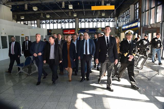 Το πρόγραμμα της επίσκεψης του Υπουργού Ναυτιλίας στην Ηγουμενίτσα