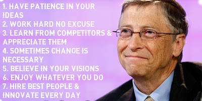 Bill Gates 7 Rules of Success | Microsoft Founder | Entrepreneur | Motivational Speech