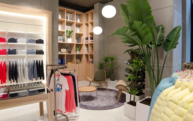 Imagem da loja Benetton-Londres