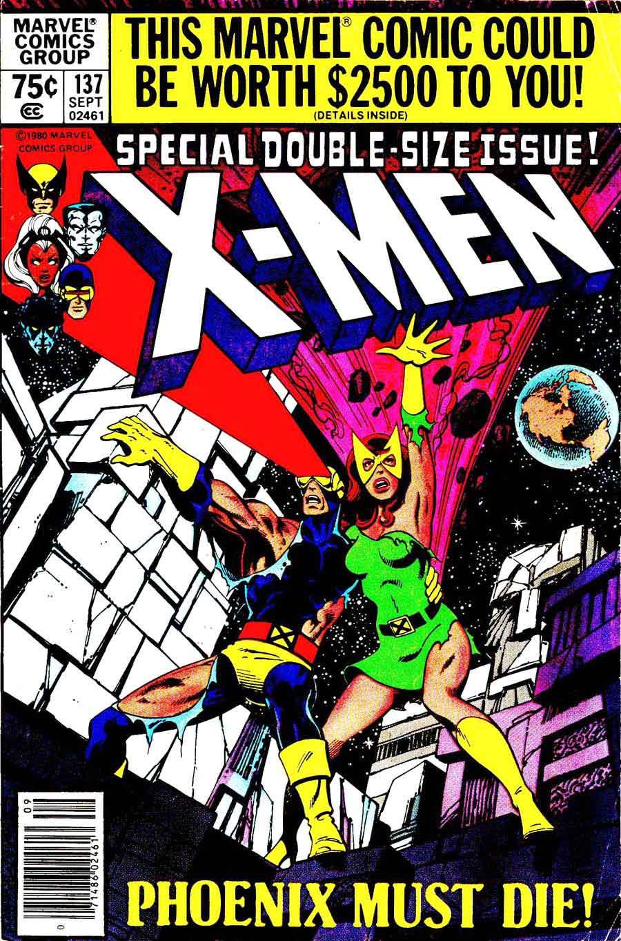 X-men v1 #137 marvel comic book cover art by John Byrne