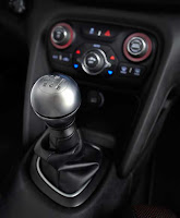Dodge Dart six-speed manual shifter