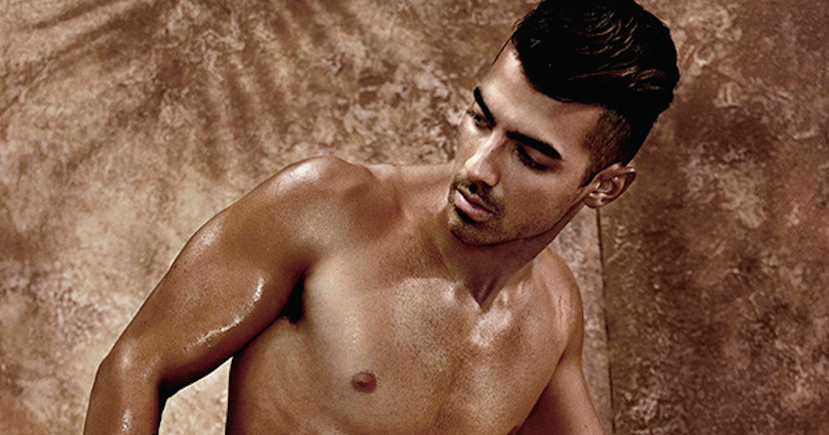 Joe jonas has an orgasm