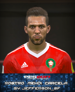 PES 2017 Faces Mehdi Carcela by FaceEditor Jefferson_SF