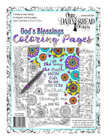 ODBD God's Blessings Coloring Pages