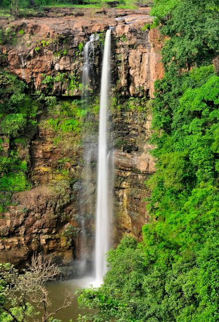 Chimer Waterfall in Dang near Surat