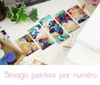 tableau peinture par numéro de Bimago