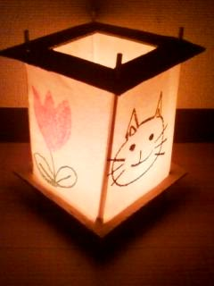 Wax Paper Lantern Preschool Craft