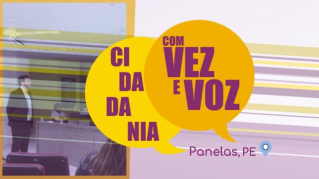 """Projeto """"Cidadania com Vez e Voz"""" do Ministério Público de Pernambuco em Panelas-PE"""
