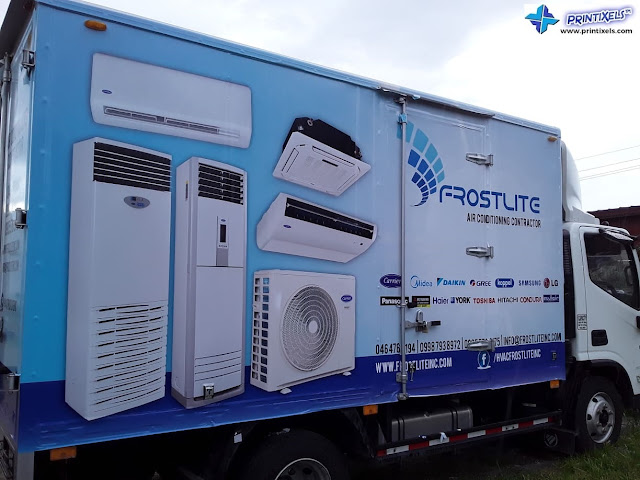 Full Truck Vehicle Wrap - Frostlite