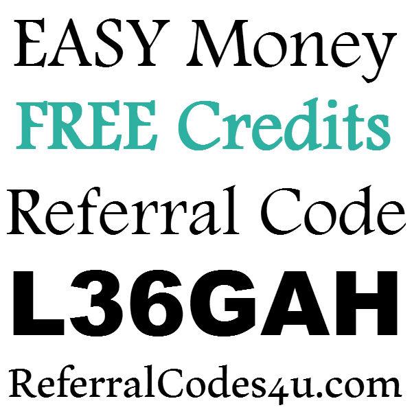 Easy Money App Referral Code, Easy Money Sign UP Bonus, Easy Money Refer A Friend 2016-2017