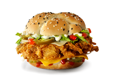 «Тёмный бургер» в KFC, «Тёмный бургер» в КФС, «Тёмный бургер» в KFC состав цена стоимость пищевая ценность Россия май июнь 2018