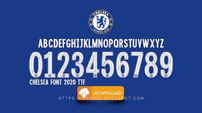 Font Chelsea 2020