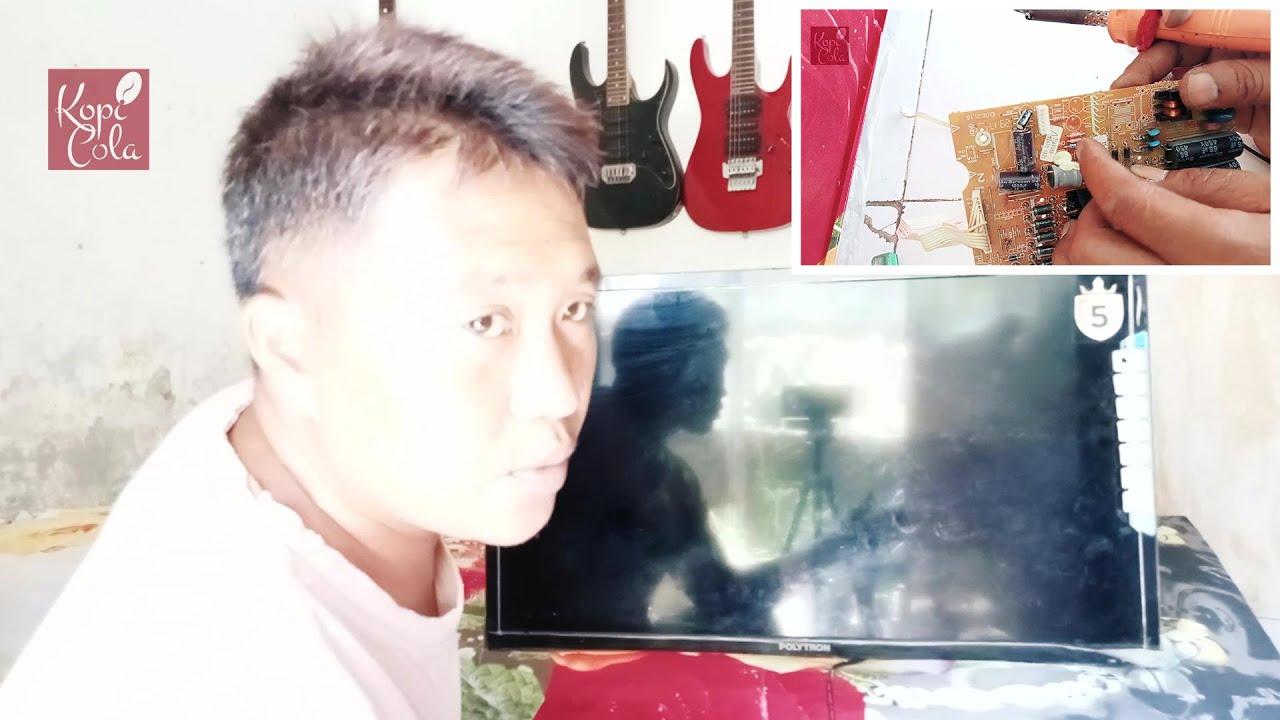 TV Polytron LCD Hidup Mati Protect