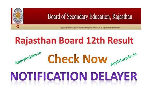 Rajasthan Board 12th Science Side Result 2020,rajasthan board result 2020, applyforjobs.in