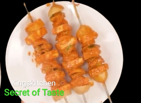 Paneer tikka masala Recipe kingskitchen secret of Taste