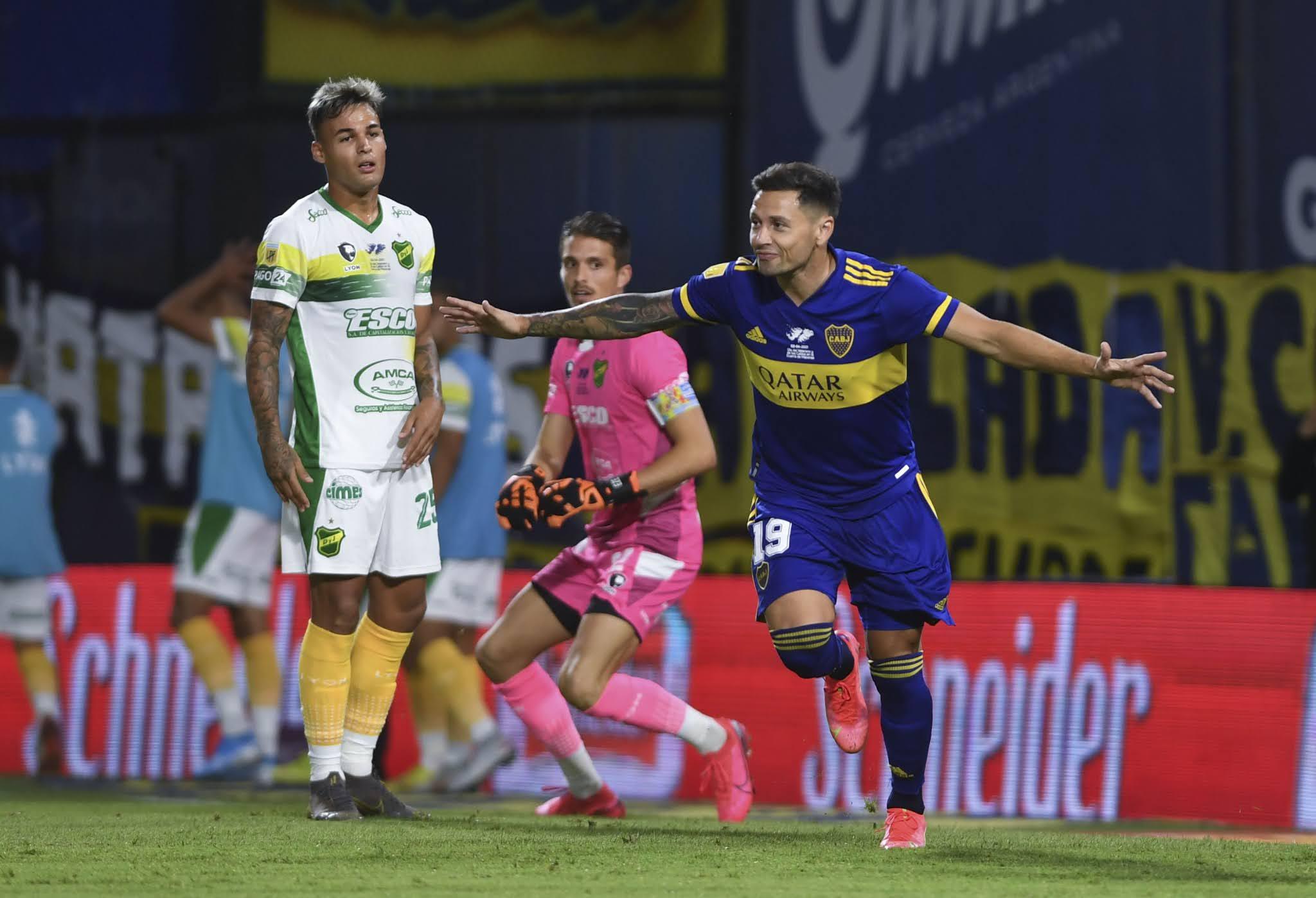 Boca se impuso a Defensa y Justicia y volvió a ganar de local
