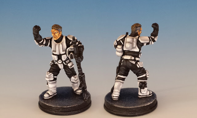 Agent Blaise, Imperial Assault (2016), painted miniature