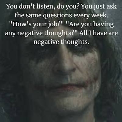Joker Arthur Fleck best quotes.
