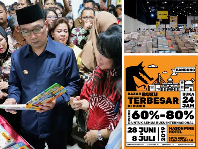 The Big Bad Wolf Book Sale 2019 di Kota Baru Parahyangan Menyedot Antusiasme Pecinta Buku