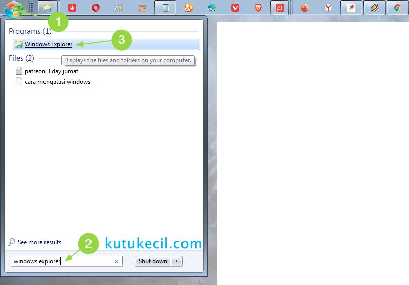 cara menandai file di laptop windows 10