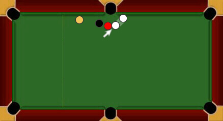 blackball pool rules touching ball