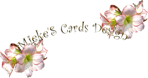 """Mieke'S Cards Design"""