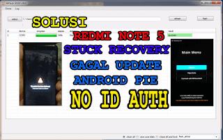 Redmi Note 5 Stuk Recovery