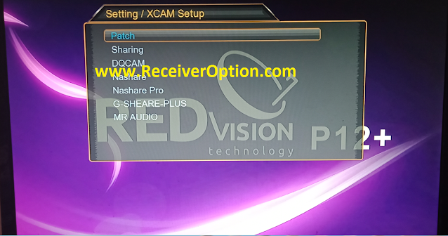 REDVISION P12 PLUS HD RECEIVER NEW SOFTWARE 15 JULY 2020