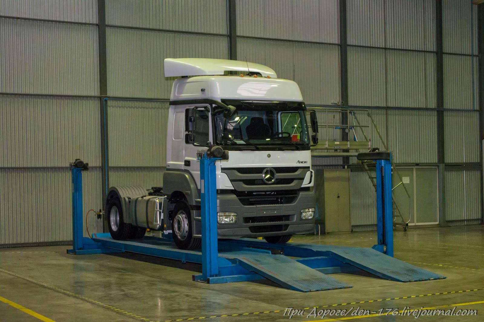 How to make MBTV 49 Mercedes Benz trucks in Naberezhnye Chelny