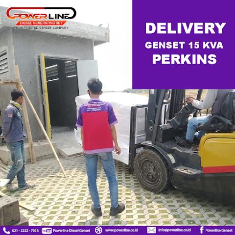 Delivery Genset 15 Kva Perkins