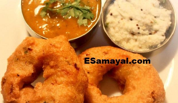 கோதுமை ரவை வடை செய்வது | Wheat Rava Vadai Recipe !
