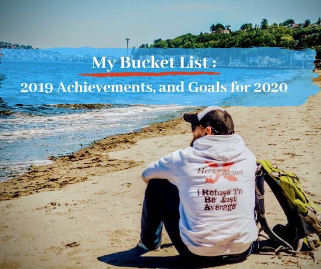 ExtraHyperActive Bucket List 2019/2020