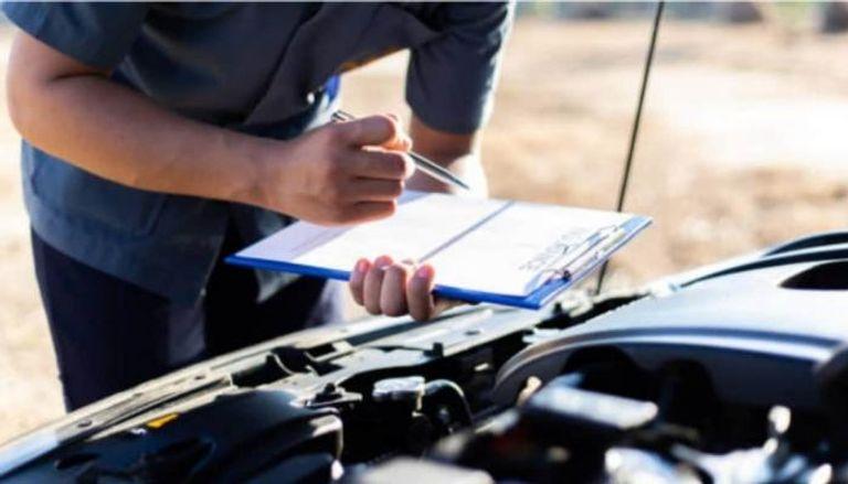 قائمة الفحص السريع للسيارة