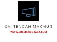 Lowongan Kerja Solo Sales Marketing di CV Tengah Makmur